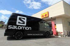 SALOMON PROMO HIACE produce by NEEDSBOX 出航!